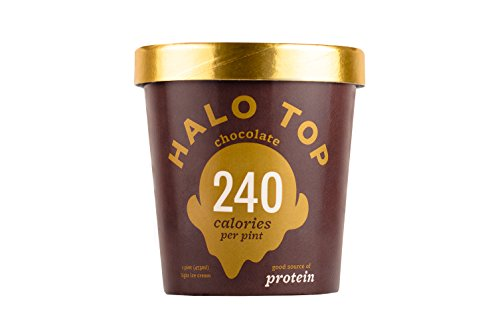 Halo Top Light Ice Cream, Chocolate 16 oz (Frozen)