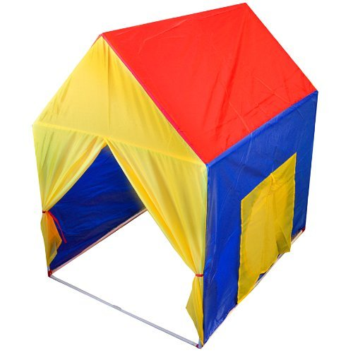 Mountain Warehouse Kids Childrens Indoor / Outdoor Play House Tent Garden Lightweight Fun Adventure Red One Size by kan