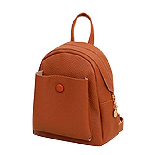 Bingirl Mini New Korean Backpacks Fashion PU Leather Women Shoulder Bag Solid Pattern Small Backpack Girls School Bags