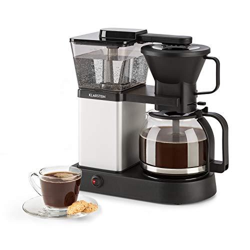 Klarstein GrandeGusto Máquina de café con jarra – Máquina de café con filtro, Cafetera, 1690 W, Depósito de 1,3 litros…