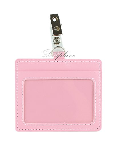 Horizontal Pink Leather - 3