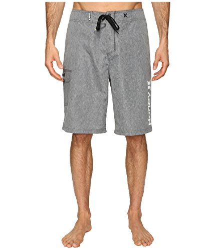 """Hurley Men's Heathered One & Only 22"""" Boardshorts Cool Grey"""