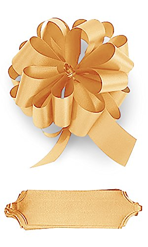 Gold Pull Bows - Pack of 50