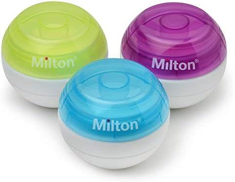 Amazon.com: Milton - Esterilizador de chupete, color azul: Baby