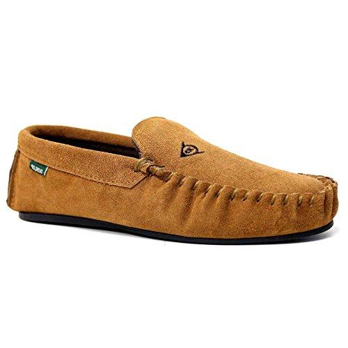uomo Pantofole carne LUKE color Dunlop zw5qFE8n