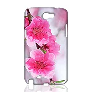 Plum Blossoms Blooming 3D Rough Case Skin, fashion design image custom, durable hard 3D , Case New Design For Case Samsung Note 3 Cover , By Codystore