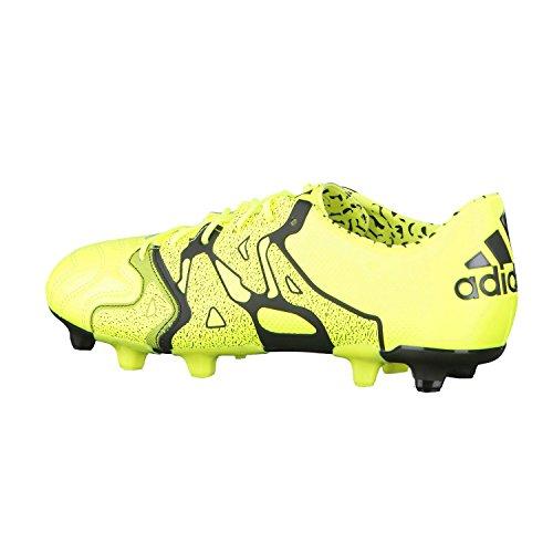 En Jaune 1 De Cuir Chaussures Adidas Fg Football Ag X 15 wBSgOZxqH