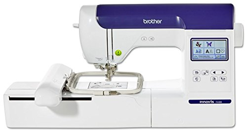 Brother Innovis F440 Embroidery Machine, White,...