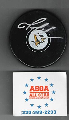 Mario Lemieux Pittsburgh Penguins autographed Hockey Puck ()