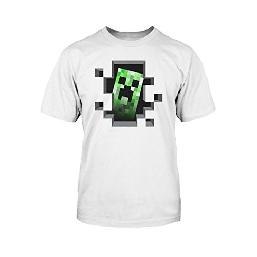 Minecraft Vintage Creeper Duality T Shirt product image