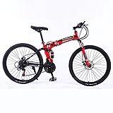 KimBird Outroad Mountain Bike, 24 Inch Folding