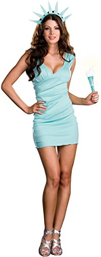 Miss Liberty Costume - Medium - Dress Size 6-10 ()