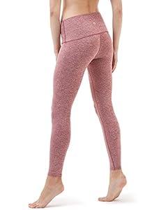 TM-FYP52-SDD_Medium Tesla Yoga Pants High-Waist Tummy Control w Hidden Pocket FYP52