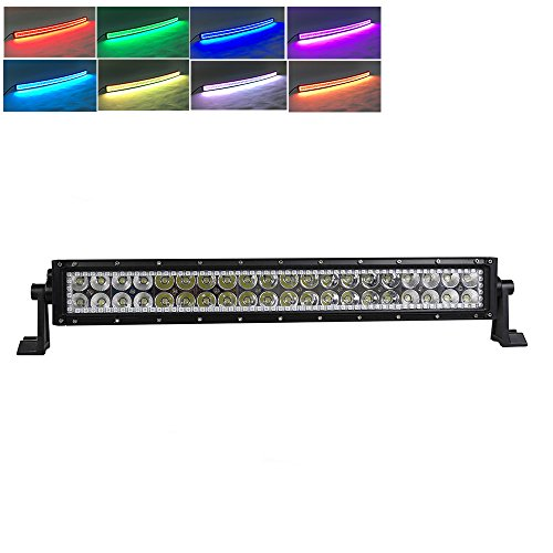 Nicoko offroad Driving 120w 20/22Inch straight LED light bars ... on