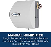 Manual High Output Furnace Humidifier Aprilaire 600M Whole House Humidifier