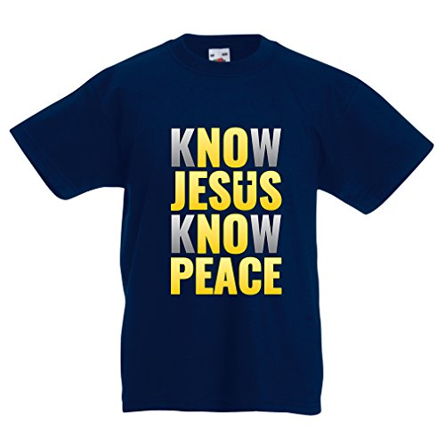 funny-t-shirts-for-kids-know-jesus-know-peace-christian-clothing-jesus-saves-t-shirt-12-13-years-dar