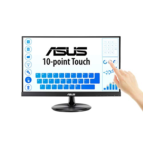 "41saGK58n4L - ASUS VT229H 21.5"" Monitor 1080P IPS 10-Point Touch Eye Care with HDMI VGA"