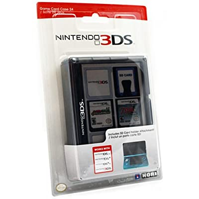 Nintendo 3DS Game Card Case 24 - Black