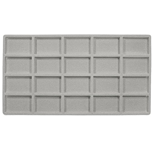 20 Compartment Full Size Tray liner