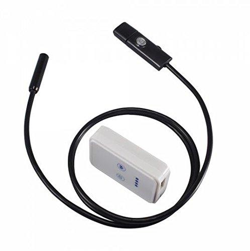 Universal Waterproof 6-LED WiFi Tube Endoscope Camera Borescope for iOS & Android Black 1m