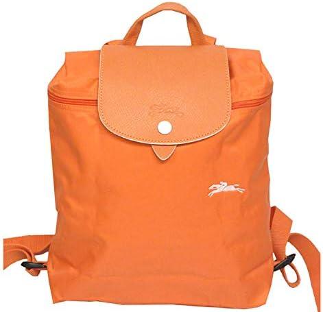 Amazon.com | LongChamp Women's Le Pliage Club Backpack Orange ...