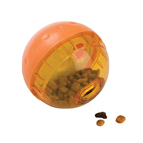 Our Pets IQ Treat Ball Interactive Food Dispensing Dog Toy (ASSORTED COLOR) (Treat Balls For Dogs)