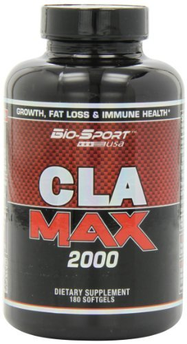 Biosport USA Cla Max 2000 Weight Loss Capsules, 180 Count by Biosport USA