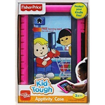 Fisher-Price Apptivity Case Protect Your Kindle Fire! (Pink) (Does not fit HD Models) ()