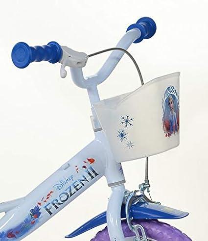 Color Blanco bicicletta P/úrpura Bicicleta , Metal, Azul, P/úrpura, Blanco, Cadena 16 hacia un Lado, Completo, 40,6 cm Dino Bikes Frozen 16 Ni/ñas Completo 16 Metal Azul