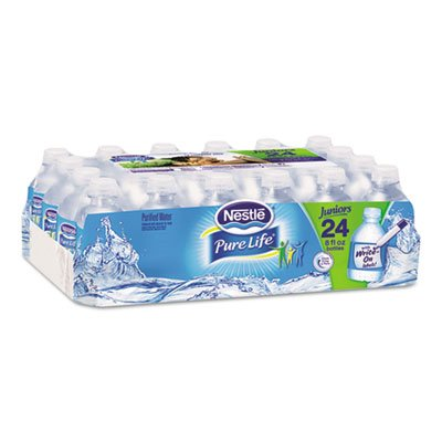 Nestle Waters Pure Life Purified Water, 8 oz Bottle, 48/Carton, 2880/Pallet by Nestle Nutritional