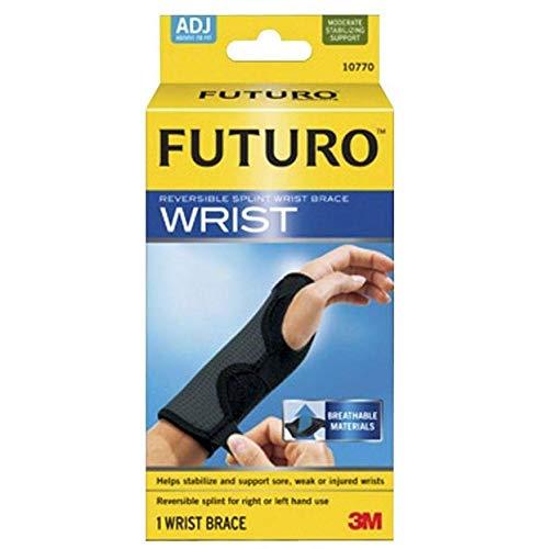 (3M/COMMERCIAL TAPE DIV. Adjustable Reversible Splint Wrist Brace, Fits Wrists 5 1/2