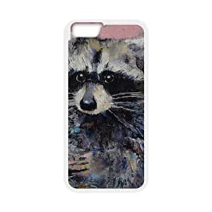 RACCOON iPhone 6 4.7 Inch Cell Phone Case White Ccipq