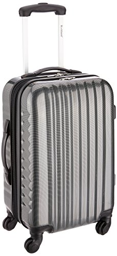 rockland-melbourne-20-inch-non-expandable-abs-carry-on-carbon-one-size