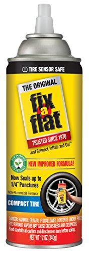 Fix-A-Flat S60410 Tire Inflator with Eco-Friendly Formula, (12 oz Cone Top) ()