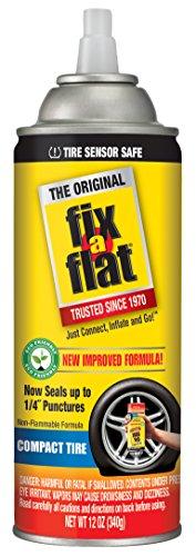 Fix-A-Flat S60410 Aerosol Tire Inflator with Eco-friendly Formula, 12 oz. Cone Top by Fix-A-Flat