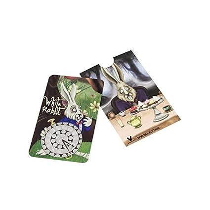Grinder tarjeta con el Conejo Blanco: Amazon.es: Hogar