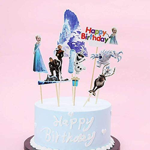 Guizu Princesa Aisha Cupcake Toppers Decoración para Cupcakes, Topper de Tarta Decoración para Pasteles , Fiesta de Cumpleaños DIY Decoración Suministros, 30Piezas (BXQY): Amazon.es: Juguetes y juegos