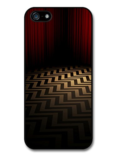 Twin Peaks TV Series Red Room with Optical Illusion Floor hülle für iPhone 5 5S