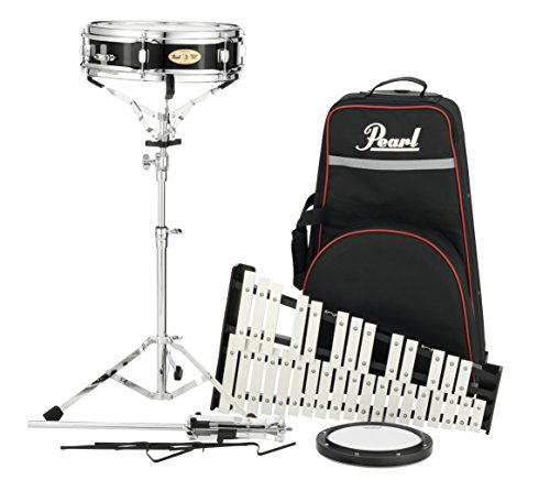 Rolling Drum Kit - Pearl Percussion Learning Center, w/PLBC9 Nylon Carrying Case w/Wheels (PL910C)