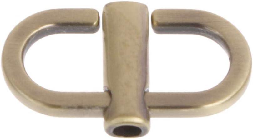 Yifeicx M/étaux Boucles Pour La Cha/îne Sangle R/églable Crossbody Sac /épaule Sacs Accessoires Raccourcir La Longueur