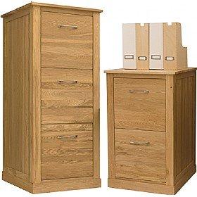 Cavalli Solid Oak Filing Cabinets