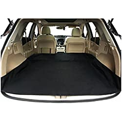Waterproof SUV Cargo Liner Pet Seat Cover with Extra Bumper Flap Mach