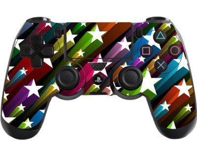 the grafix studio Stars Playstation 4 (Ps4) Controller Sticker / Skin / Wrap / Ps38