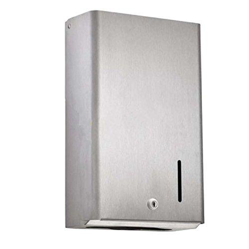 TAP 0001634 Distributeur Essuie-Mains 400 Feuilles, 255 x 125 x 425 mm, acier Poudre Blanc TAP France