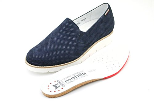 By Mobils Mujer Mocasines Turquesa Para Mephisto Hq5aCC