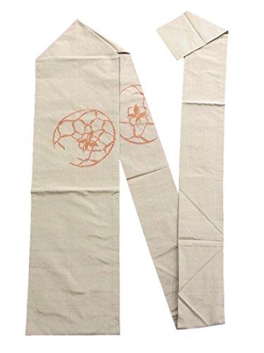 可聴沿って放射能リサイクル 名古屋帯 手毬文様 紬 正絹