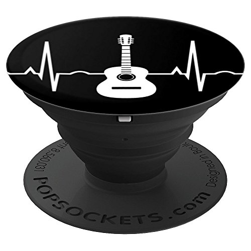 Guitar Smartphone Grip Acoustic Guitar Player Musician Gift - PopSockets Grip and Stand for Phones and Tablets
