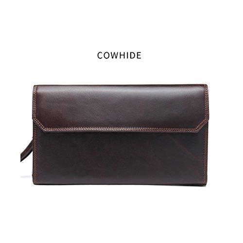 JOYIR - Bolso bandolera  Hombre marrón marrón 13.5D*28L*7H marrón