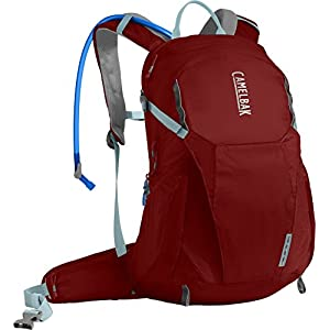 CamelBak Women's Helena 20 Crux Reservoir Hydration Pack, Red Dhalia/Stone Blue, 2.5 L/85 oz