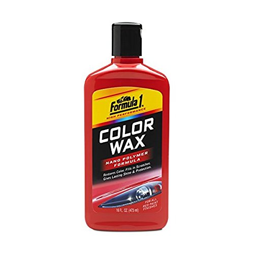 Formula 1 Car Polish - Northern Labs Formula 1 Red Color Wax — Restores Color and Fills in Scratches — 16 fl. oz.